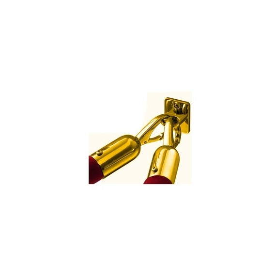 Fali csatlakozó köteles oszlophoz titanium gold színben