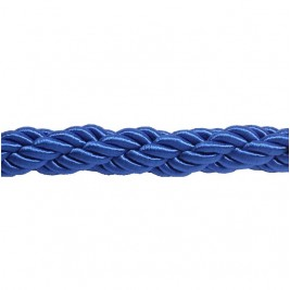 Kék színű díszkötél 30 mm átmérő, karabineres kötélvég nélkül