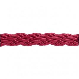 Burgundi színű díszkötél 30 mm átmérő, karabineres kötélvég nélkül