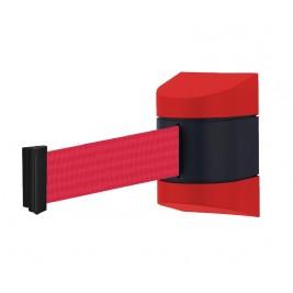 Fali kordon ház szett piros-fekete műanyag (4,8 m piros szalagkazettával)