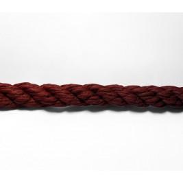 Bordó színű műszálas kültéri díszkötél