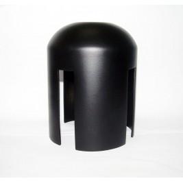 Csatlakozó elem információs táblához - szalagos nagy fekete oszlophoz (méret: 76mm)